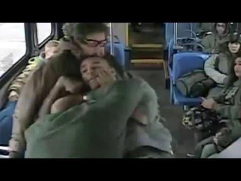 Fight Between Bus