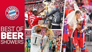 7 Championships, 7 Beer Showers | Best of FC Bayern