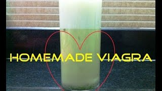 DIY Homemade Natural Viagra made Super quick & easy with just 3 Simple Ingredients!