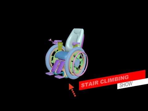 AMDC 2016: Smart & Stair Climbing Wheelchair