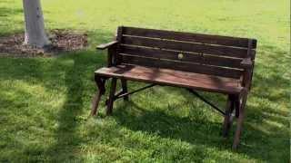 Wholesalemart - Rustic Convertible Garden Table