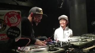 DJ CRAZE & DJ RENA rena 11 years old. Japan.