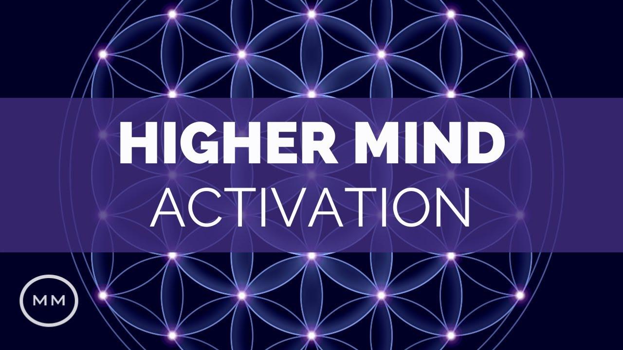Higher Mind Activation: 963 Hz - Crown Chakra + Third Eye Healing -  Meditation Music