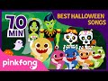 Halloween Zombie Sharks and more | Halloween Songs | +Compilation | Pinkfong Songs for Children