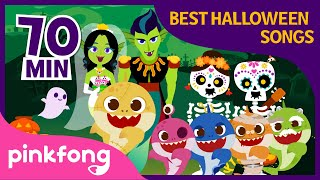 Download lagu Halloween Zombie Sharks and more | Halloween Songs | +Compilation | Pinkfong Songs for Children