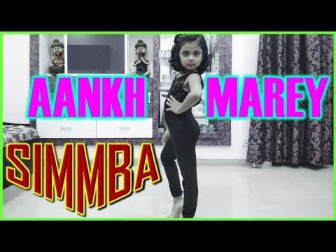 Must Watch Solo Bollywood Dance Performance Kids I AANKH MAREY I Ranveer Singh I Sara Ali (SIMMBA)