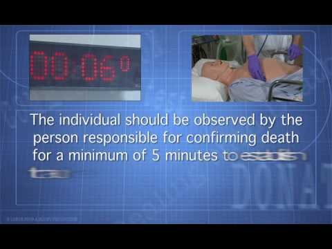 Verifying Death - A clinical skill