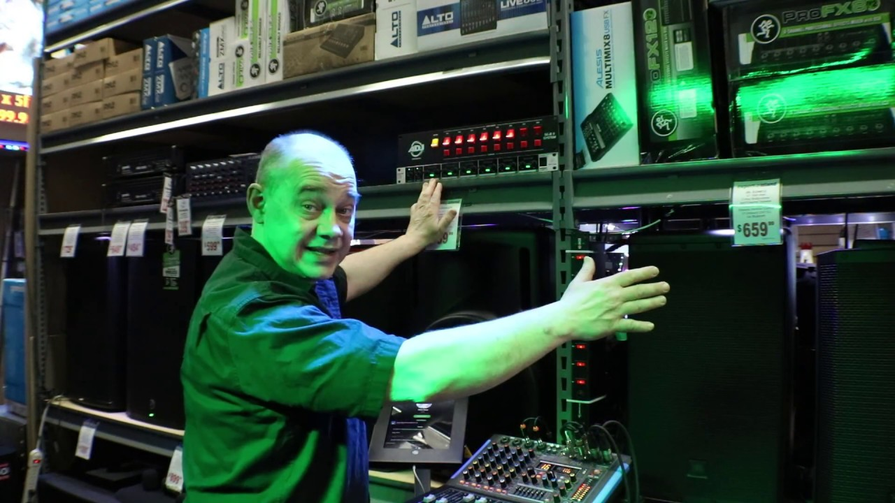 How to set up Behringer ULTRAZONE ZMX2600 Professional 2-Input 6-Bus Zone  For your Powered Speaker