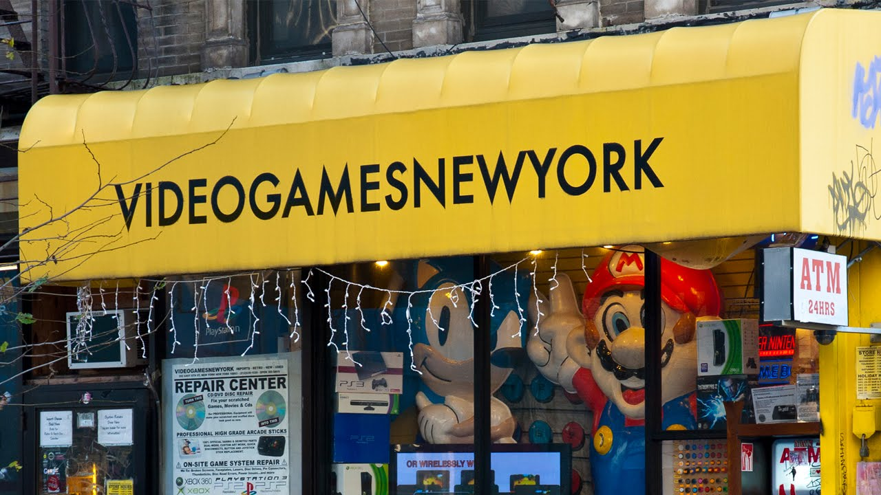 The Worlds Best Video Game Store Games New York