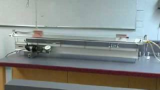 Air Track Resonance Physics Demonstration