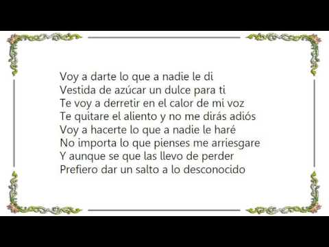 Gloria Trevi Vestida De Azúcar Lyrics Gloria Trevi