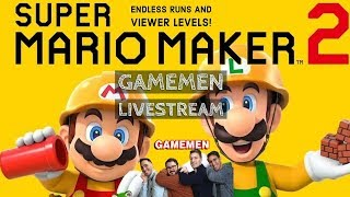 !Add Viewer Levels Super Mario Maker 2 Livestream with Troyfullbuster