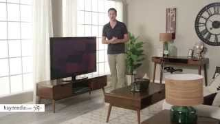 Belham Living Carter Mid Century Modern TV Stand - Product Review Video