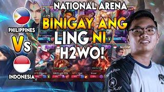 NAGKAMALI ANG TEAM INDO BINIGAY ANG LING NI H2WO - National Arena