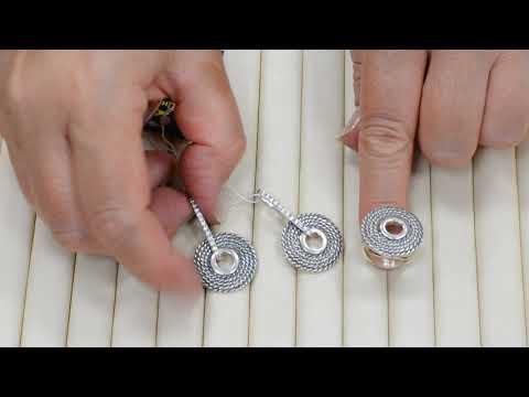 Кольцо, серьги из серебра без вставок. Завод Вега, Циркон, Невский