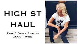 ZARA, Other Stories, New Look, ASOS | High Street Haul AW18