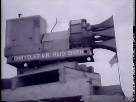 Chrysler V8 Air Raid Siren.