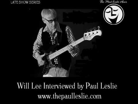 Will Lee Interview on The Paul Leslie Hour