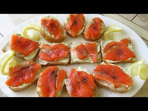 Бутерброд, да не тот. Бутерброды с красной рыбой. ВКУСНОТА!