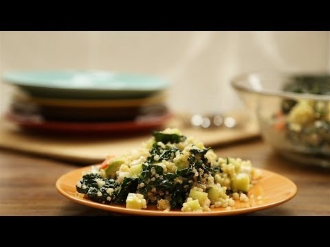 How to Make Kale, Quinoa and Avocado Salad | Vegetarian Recipes | Allrecipes.com