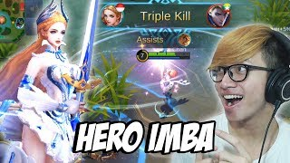 NEW HERO ODETTE MAGE PALING IMBA YANG PERNAH ADA ! - MOBILE LEGENDS INDONESIA #12