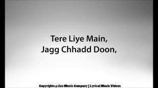 Aaja Ve Sajna   Mamta Raut  Rahul Pandit  Altamash Faridi   Tashan E Ishq Zee TV   With Lyrics