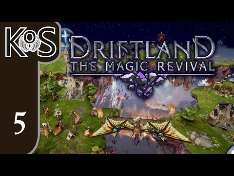 Driftland Ep 5: BEATING THE DARK ELVES PROPERLY - Early Access - Let's Play, Gameplay