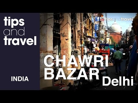 Chawri Bazar- CAOS nivel DEHLI INDIA!!!!