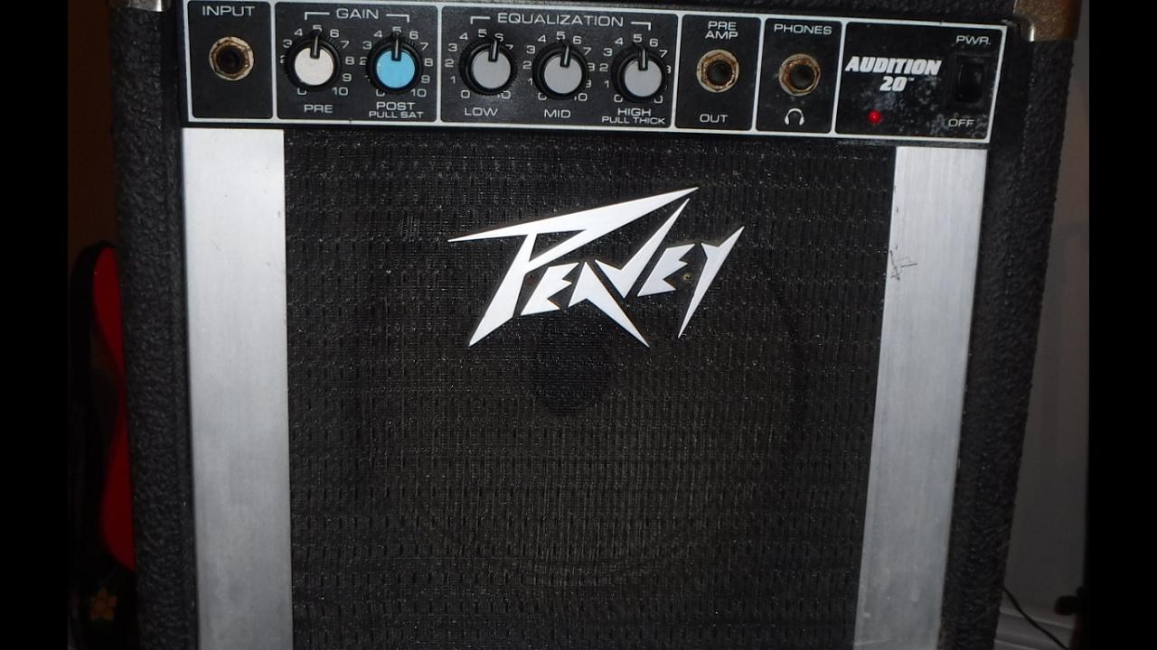 Peavey audition 20 guitar amp score for 20 bucks youtube.