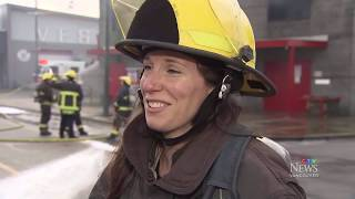 Why are there so few female firefighters?