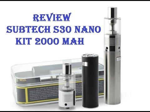 Мод SUBTECH S30 Nano Kit 2000 mAh обзор