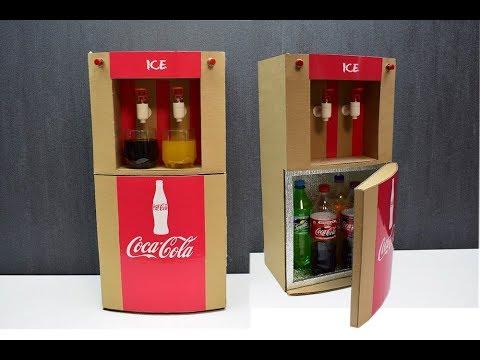 Как сделать холодильник с диспенсером для напитков своими руками