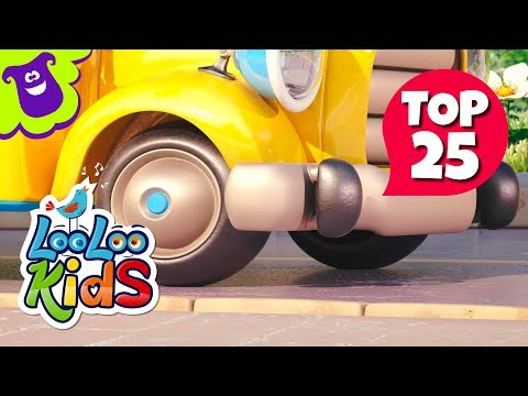 TOP 25 Most Fun Songs for Kids on YouTube