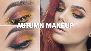 Done Quick- Autumn makeup- Linda Hallberg makeup tutorials Thumbnail