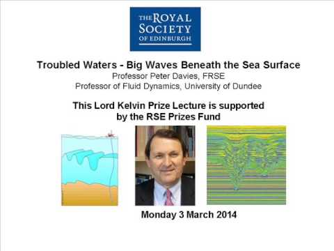 Troubled Waters -  Big Waves Beneath the Sea Surface