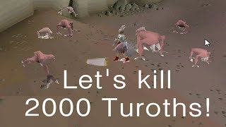Runescape 2007 Let's kill 2000 Turoths!
