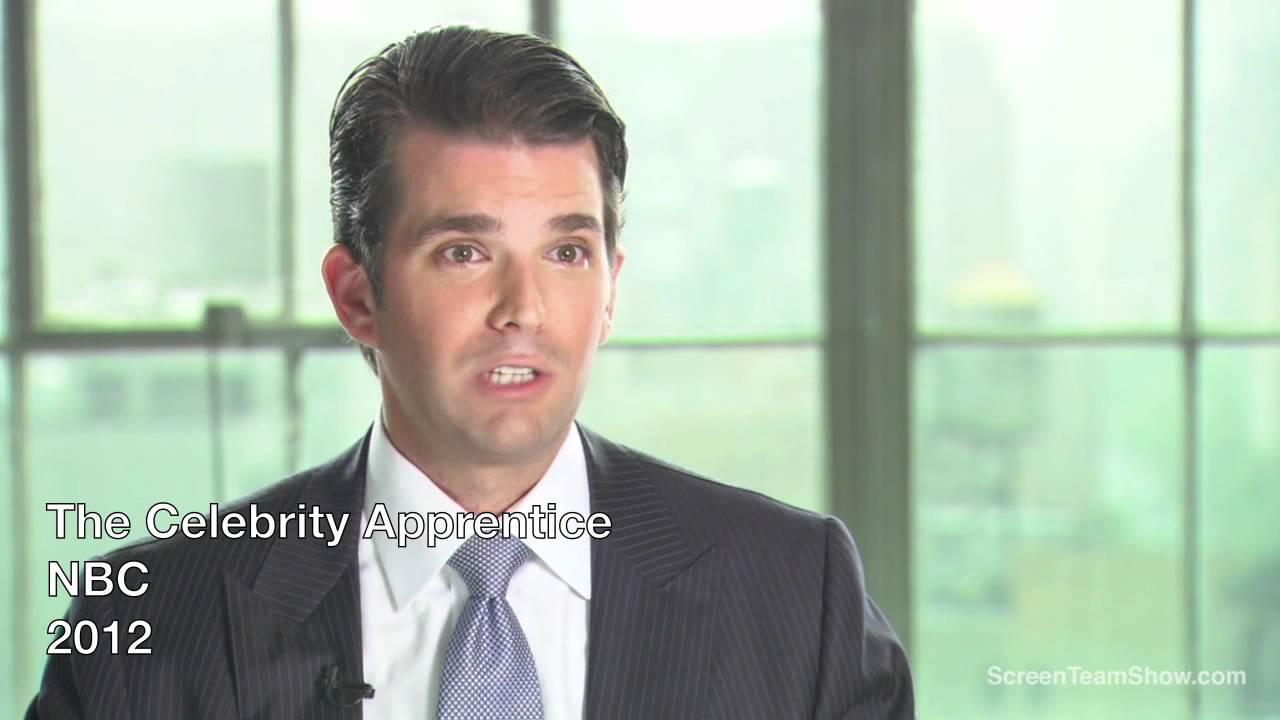 Donald Trump Jr. HD Interview - The Celebrity Apprentive ...
