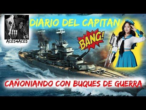 World Of Warships: Diario Del Capitan/Captain Log