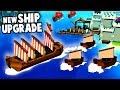 NEW Merchant Ship Upgrade!  Germany Under Siege! (Kingdoms And Castles New Update Gameplay)
