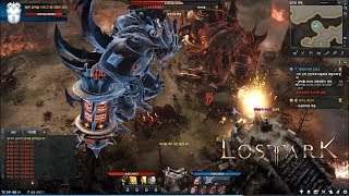 LOST ARK Online - CBT2 Devil Hunter Level 34 Scenario Dungeon Frenzy Festival Main Story Gameplay