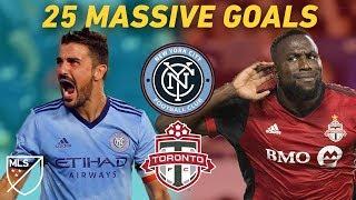 When Toronto Plays NYCFC, Big Stars Score Huge Goals!   Villa, Giovinco, Altidore, Mitrita and More