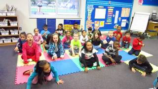 Pete The Cat -I Love My White Shoes with Rhoades Kindergarten Classes Oct 2014