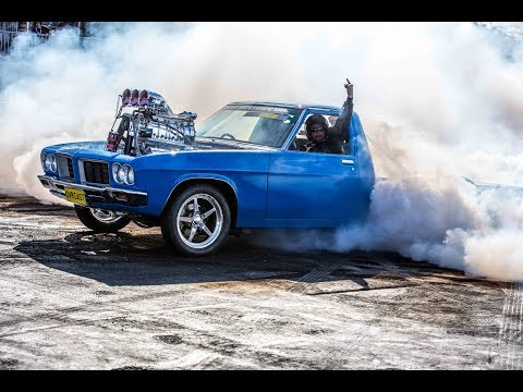 55 procharged chevy  YouTube