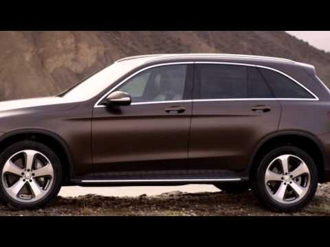 2016 Mercedes GLC 250d driving footage