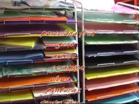 Papeleria aquarella youtube for Articulos de oficina y papeleria