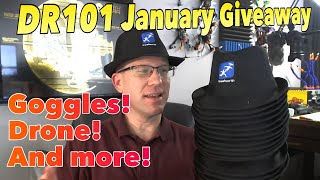 DroneRacer101 January 2019 Giveaway – VRD2 Pro Goggles and anyone want a DR101 Fedora