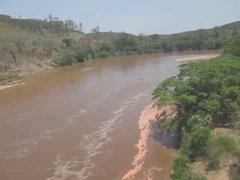Momento exato em que a Lama da barragem de Mariana chegou em Ipatinga