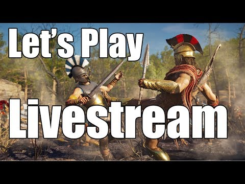 Assassin's Creed Odyssey - Let's Play Livestream #1