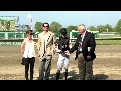 video thumbnail for MONMOUTH PARK 5-19-19 RACE 9 – GET SERIOUS STAKES