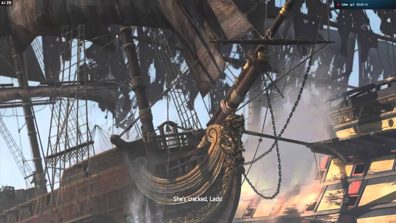 Queen Anne S Revenge Assassin S Creed Black Flag Youtube